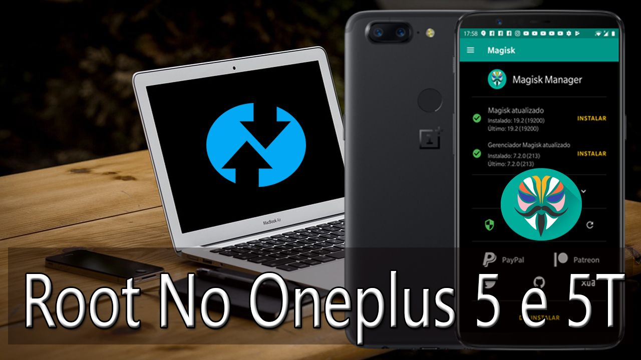 Root No Oneplus 5 e 5T Android Pie 9.0
