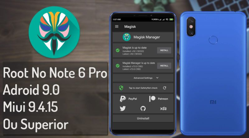41 800x445 - Note 6 Pro Root No Android 9.0 Miui 10 9.4.15 ou Superior
