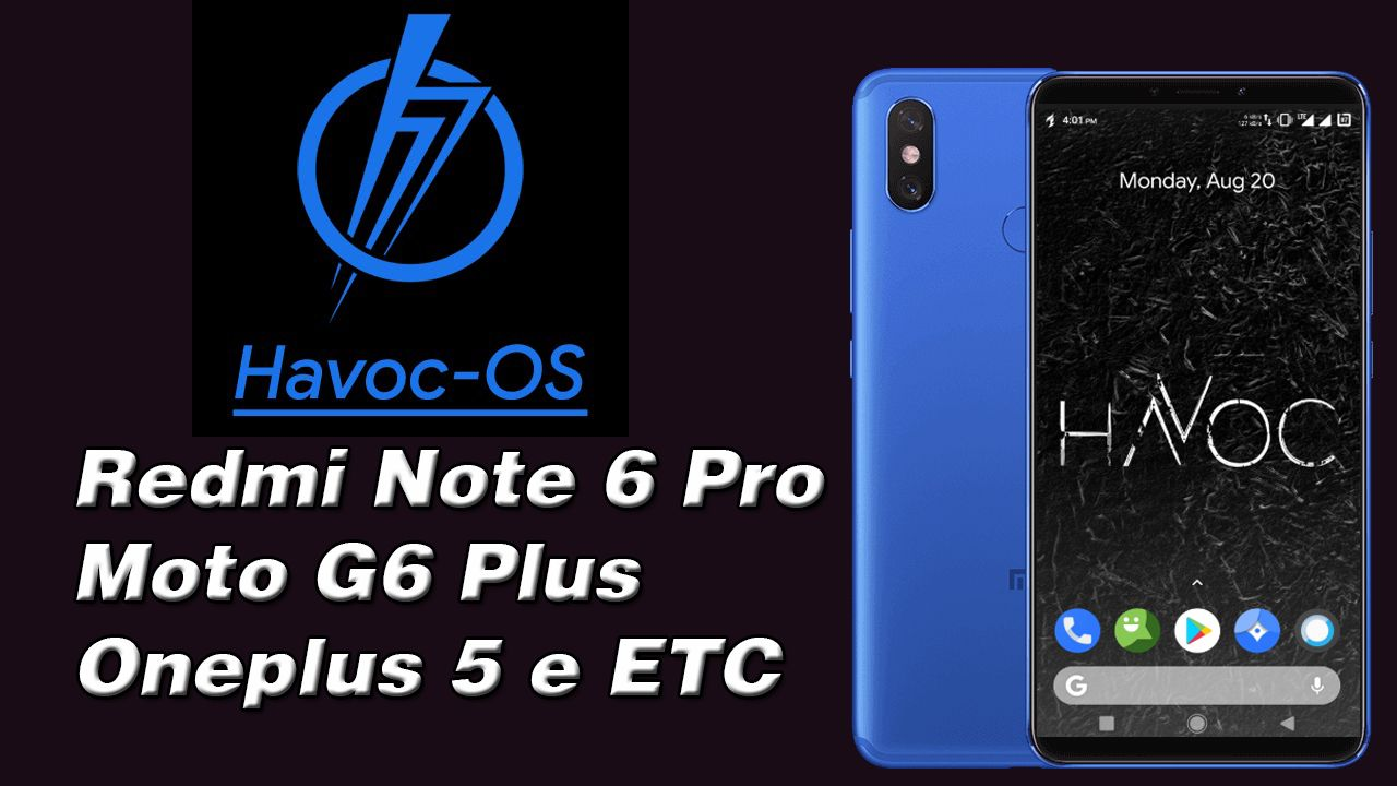 Havoc Os 2.7 Android 9.0