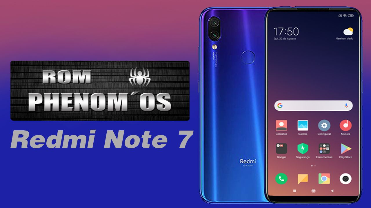 Phenom OS Redmi Note 7 Base Miui 10.3.9
