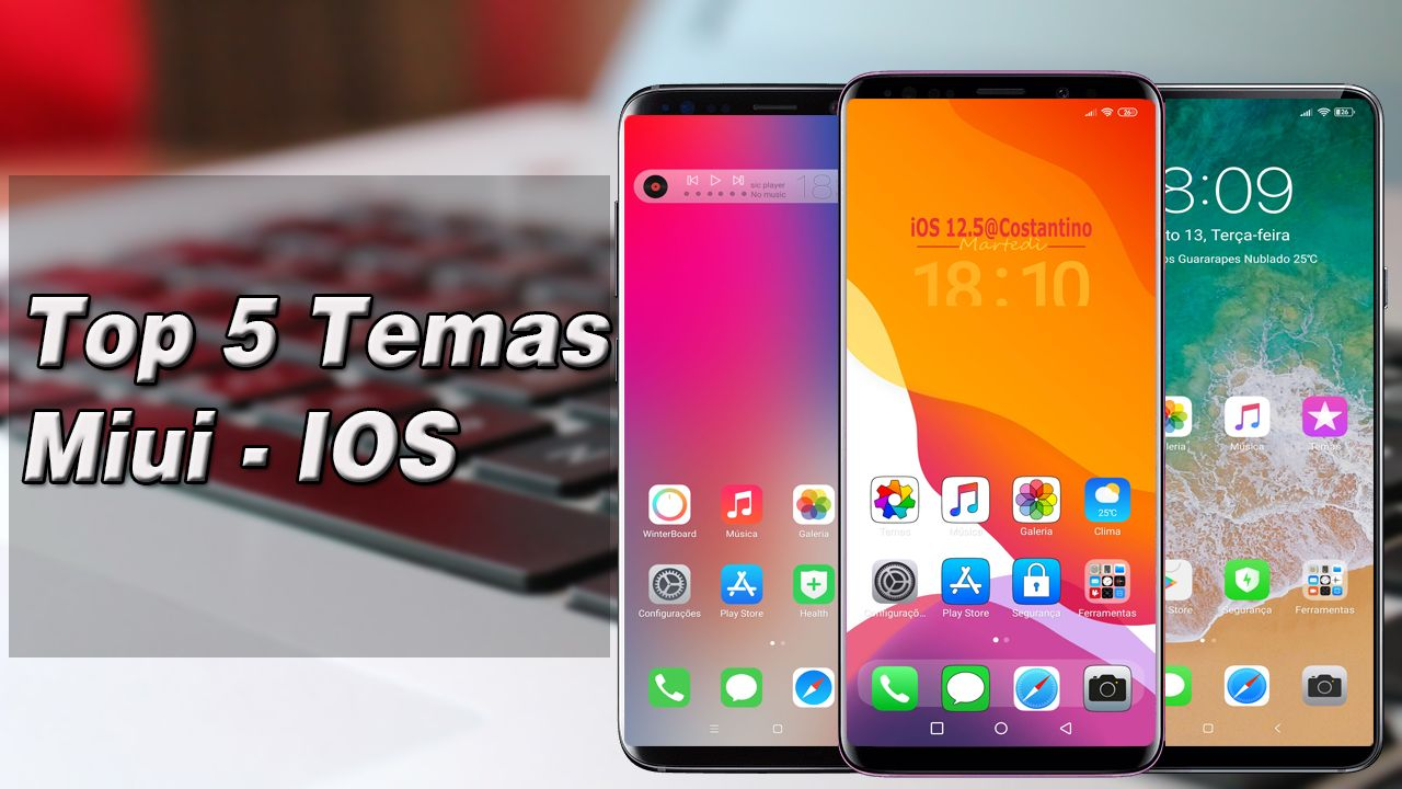 Top 5 Temas Miui 10 IOS