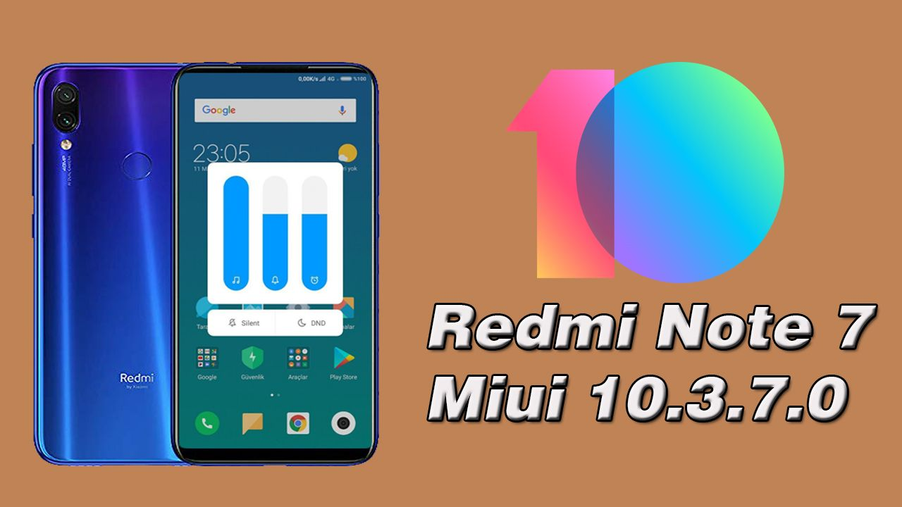 Miui 10.3.7.0 Estável Global Redmi Note 7