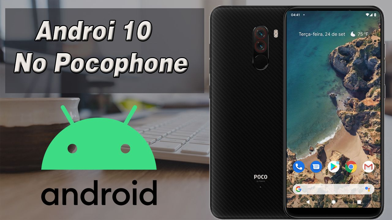Android 10 No Pocophone