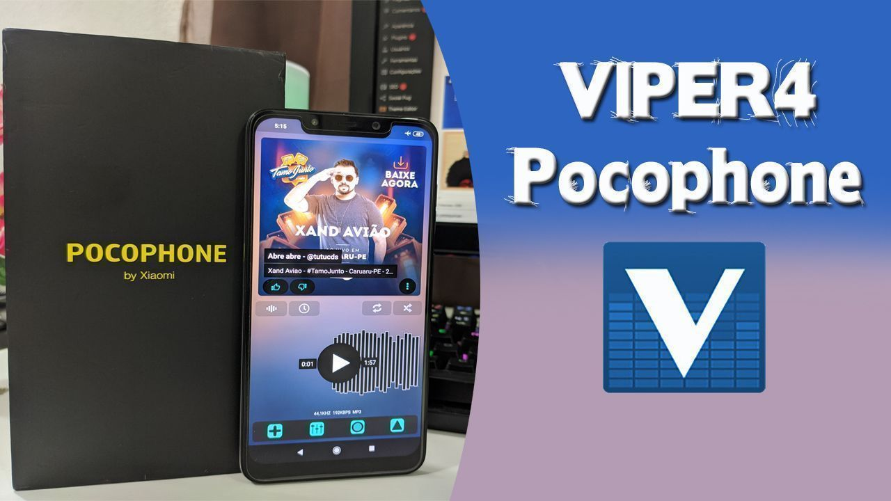 VIPER4Android FX No Pocophone Android 9