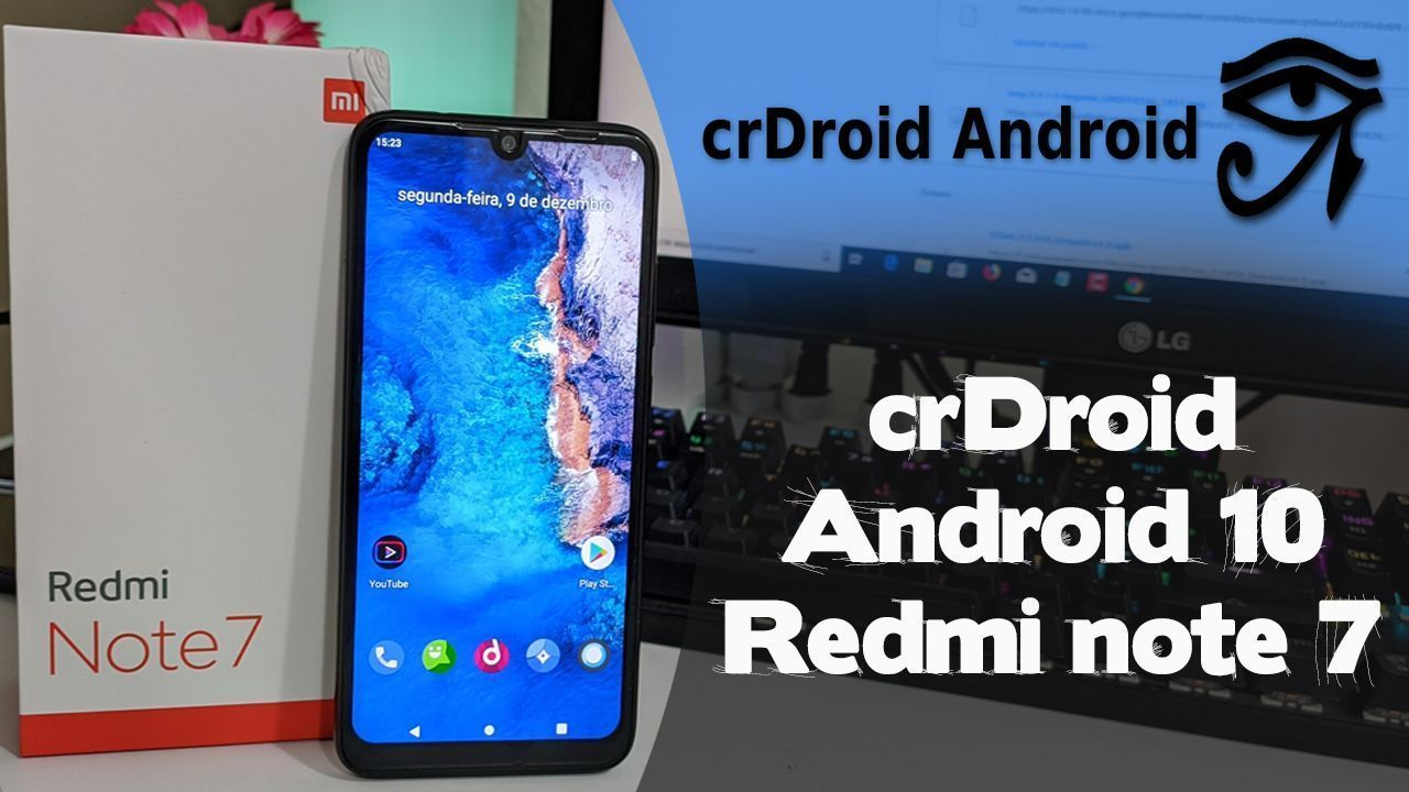 crDroid Android 10 Redmi Note 7