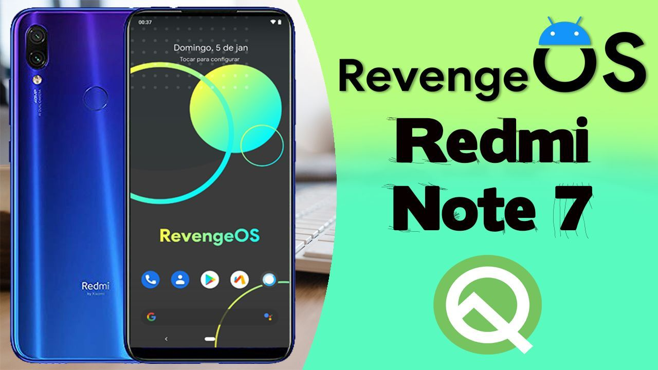 Revenge Os Android 10 No Redmi Note 7
