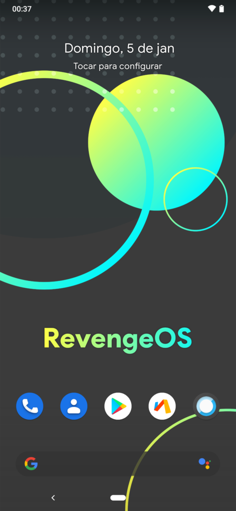 Screenshot Lawnchair 20200105 003723 473x1024 - Revenge Os Android 10 No Redmi Note 7